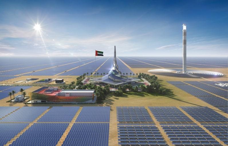 Проект Mohammed Bin Rashid Al Maktoum Solar Park