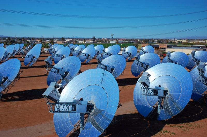 Солнечная электростанция тарельчатого типа
