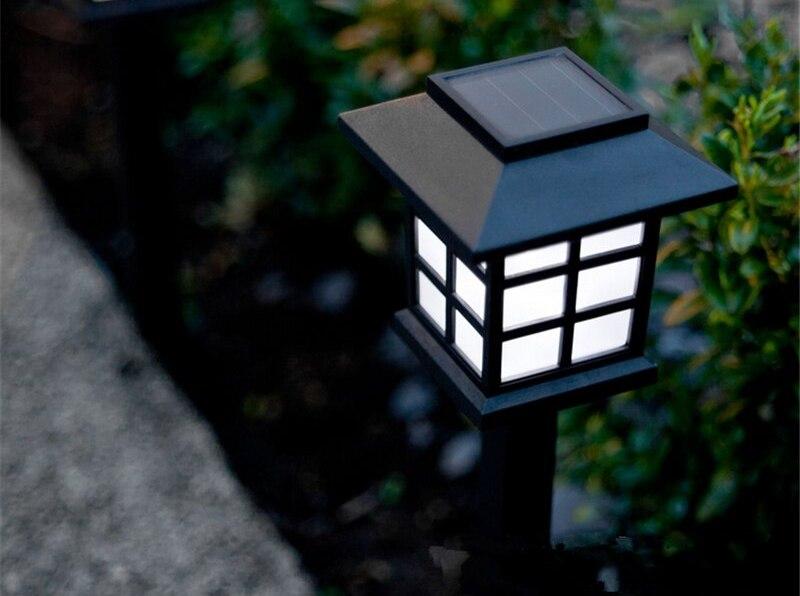 Садовый светильник пример