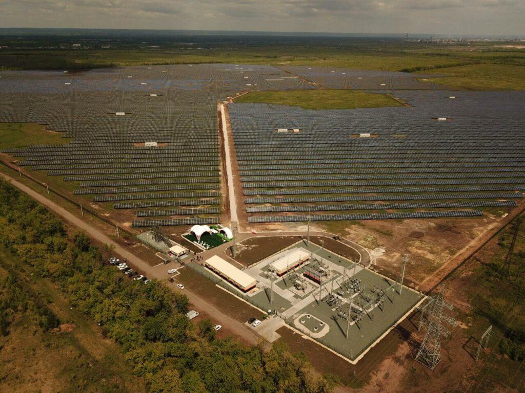 Самарская солнечная электростанция