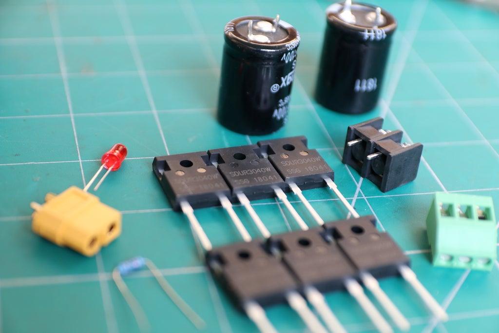 Составляющие выпрямителя тока