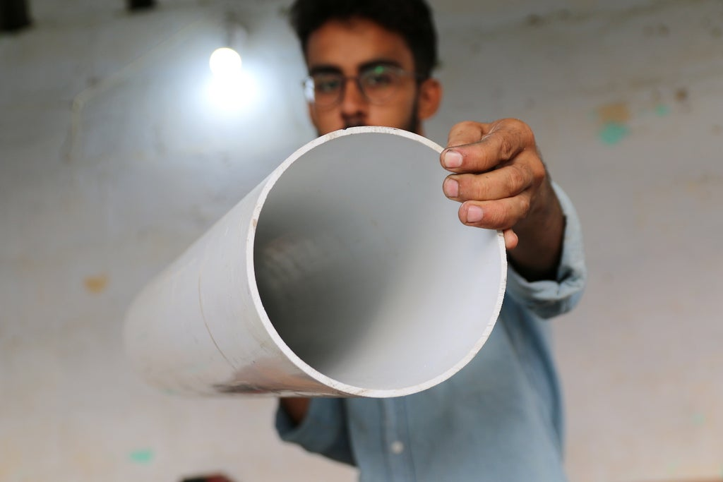 Труба для изготовления лопастей