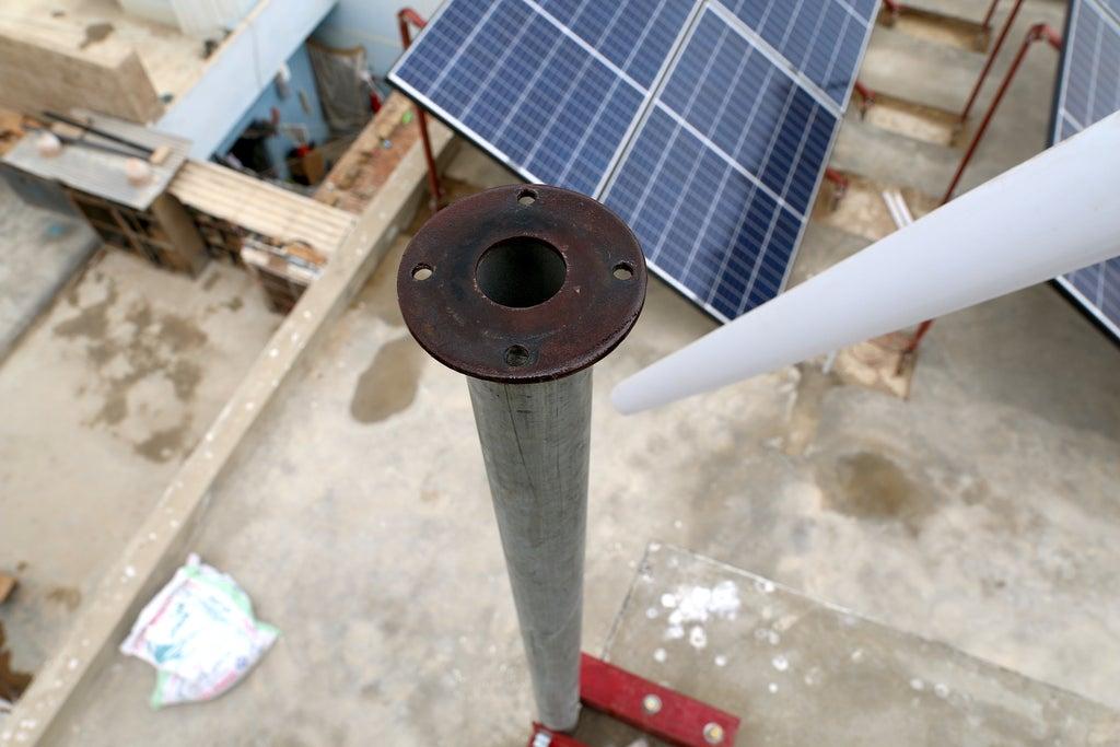Труба для установки ветрогенератора
