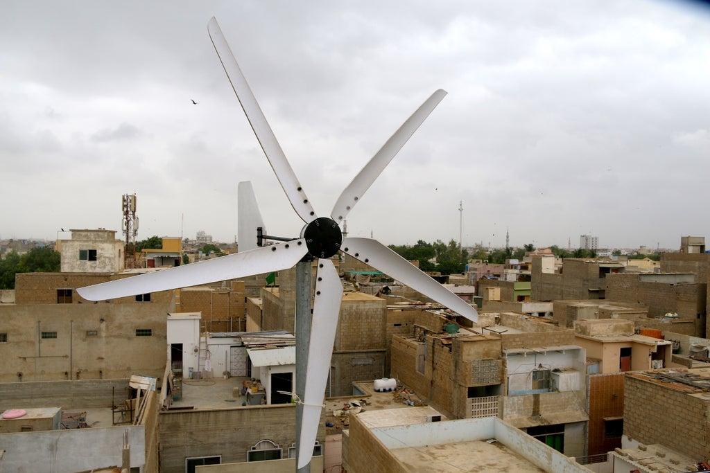 Ветрогенератор готов к работе