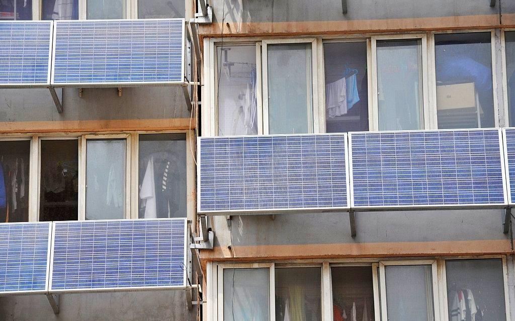 Солнечные батареи на лоджии