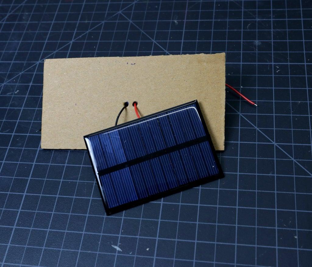 Установка солнечной панели